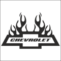chevrolet flames