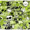 JDM Stickerbomb - GREEN