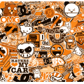 JDM Stickerbomb - ORANGE