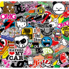 JDM Stickerbomb