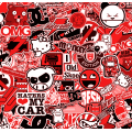 JDM Stickerbomb - RED