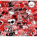 JDM Stickerbomb - RED